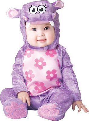 incharacter m huggable hippo baby costume medium
