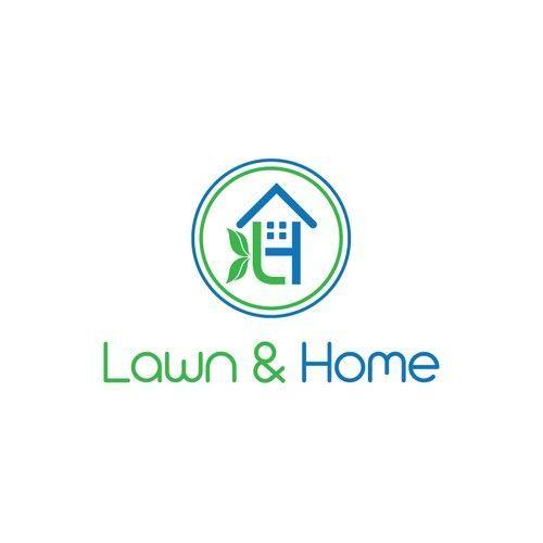 Landscaping, garden and home maintenance logo design. Logo design contest design…,  #contes… #instandhaltungsarbeiten