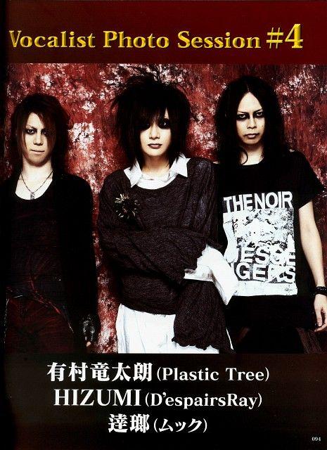 Hizumi. D'espairsRay. Arimura Ryutaro. Plastic Tree. Tatsurou. MUCC. Shoxx 2008.