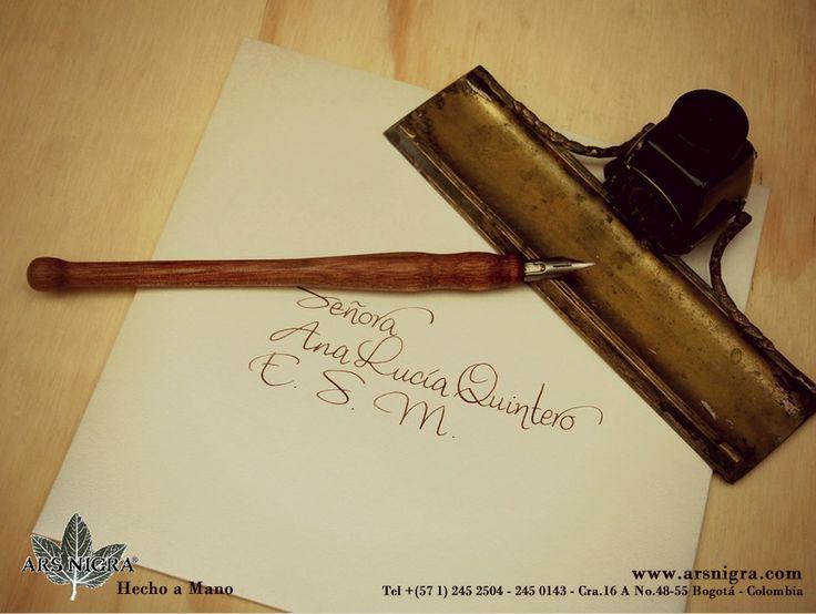 #Caligrafía, el arte de #escribir bello...
