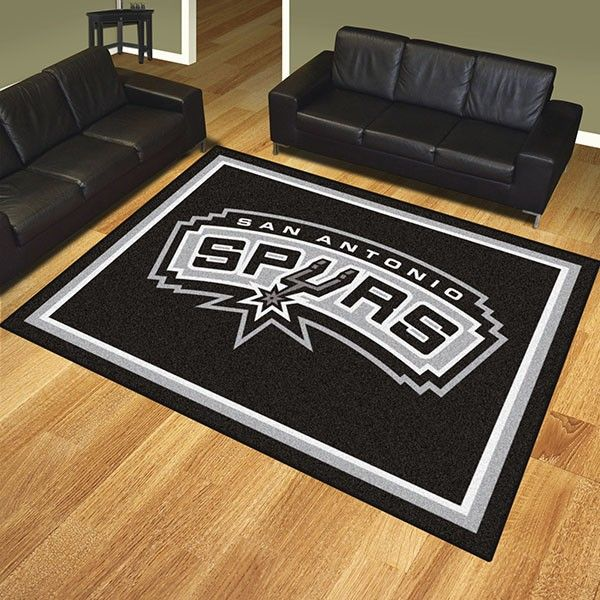 San Antonio Spurs 8x10 Rug Rugs On Carpet 8x10 Area Rugs Area Rugs