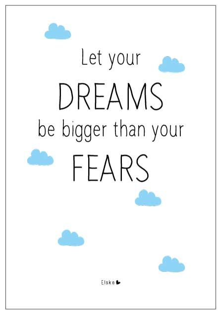 dreams and fears | Elske
