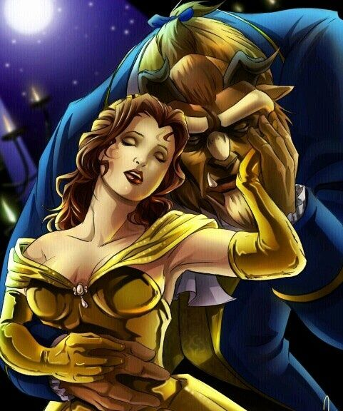 Princess Belle And Prince Adam Beauty And The Beast Gohana: Princess Belle And Prince Adam