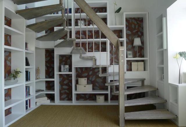 die 25 besten ideen zu halbgewendelte treppe auf pinterest treppenbeleuchtung led led. Black Bedroom Furniture Sets. Home Design Ideas