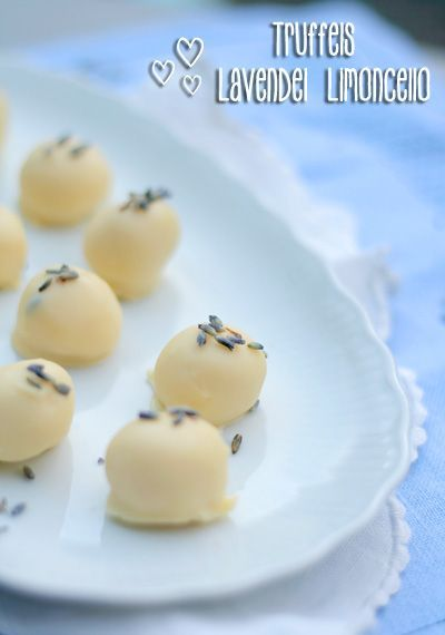 Lavendel limoncello truffels recept - Overige - Eten Gerechten - Recepten…