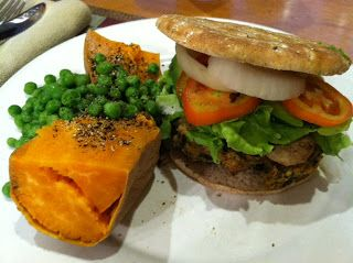 """This recipe comes from McDougall's """"The Starch Solution"""".  It is a great veggie burger that doesn't fall apart."""