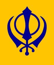The following of Sikhism revolves around a monotheistic god called Ik Onkar  the religion originated in the 15th century CE, the religion only has 23 million followers and is one of the smaller religions of the modern day. Sikh religion revolves around a god but they do not believe that humans are Ik Onkar's creation, (not divine incarnation). They also reject the philosophy of the social caste system and praise life and equality.