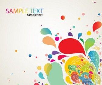 Abstract Splash Card Design.  http://vectorspedia.com/free-vector/abstract-splash-card-design-7573/