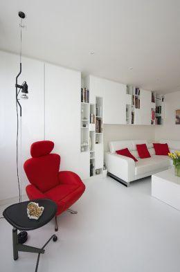 archiweb.cz - Rekonstrukce panelákového bytu