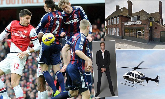 PETER CROUCH COLUMN: My crazy deadline day move to Stoke