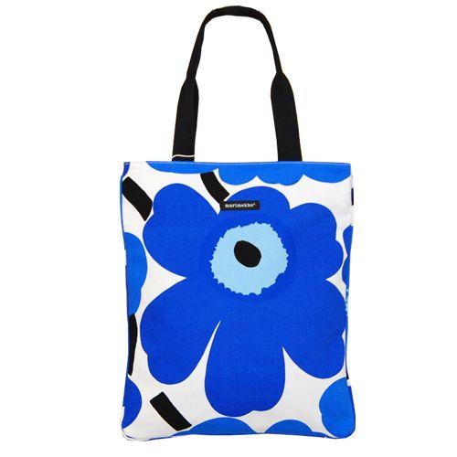 Marimekko Kesi Blue Tote Bag $59.50