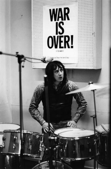 "John Entwistle. ""You want me to play drums? I think not."""