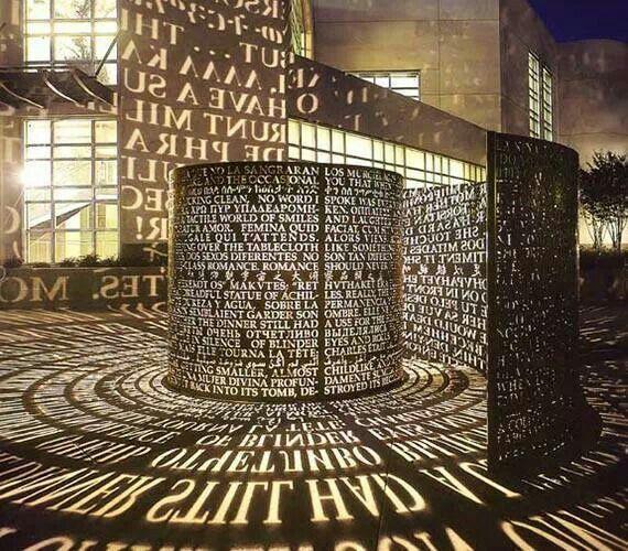Wow! Kunst in bibliotheek Houston