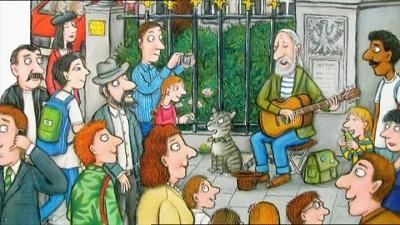 Tabby McTat by Julia Donaldson and illustrated by Axel Scheffler