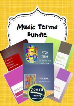 Music -Music Terms Bundle These resources were originally created for my senior class of 2013. I wanted to try the Flipped classroom model as a way of completing work at a much quicker rate. It worked!!! We tore through each concept very quickly and with a lot more depth.
