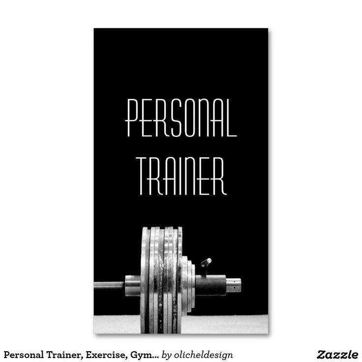 204 best Fitness Business Cards images on Pinterest | Business ...