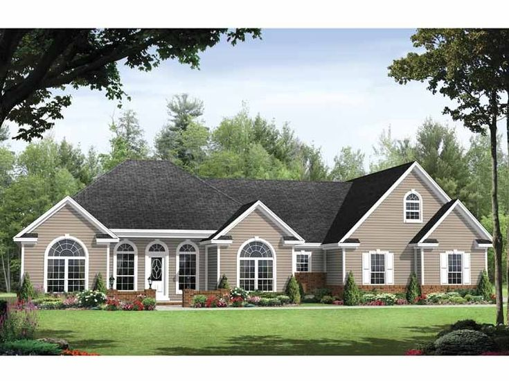 Best Floor Plans Images On Pinterest Home Plans Southern - Traditional house plans traditional home plans