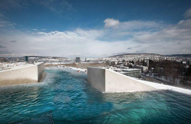 Thermalbad Zürich-Umwandlung einer Brauerei in ein Spa-Hydrotherapie