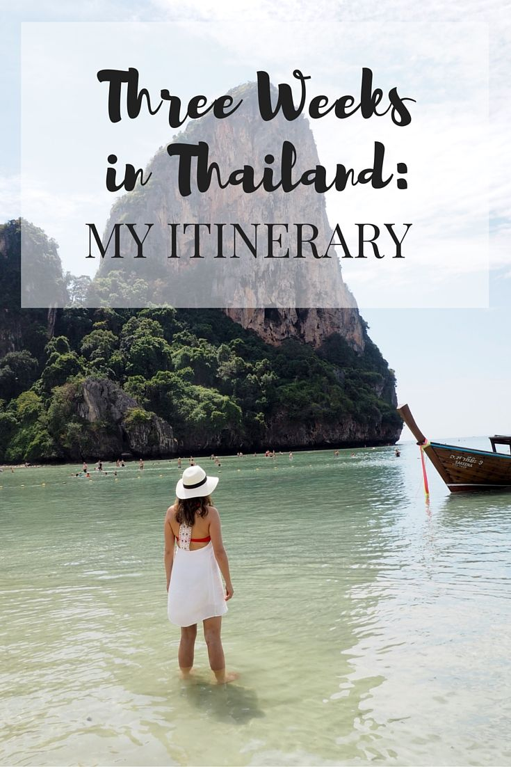 Three Weeks in Thailand: My Itinerary // Click through to read the whole post!  www.girlxdeparture.com