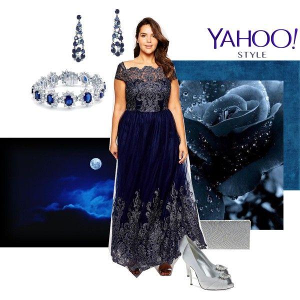 Midnlight magic by maria-kuroshchepova on Polyvore featuring Chi Chi, Nina, Bling Jewelry, BCBGMAXAZRIA, contestentry and yahoostyle