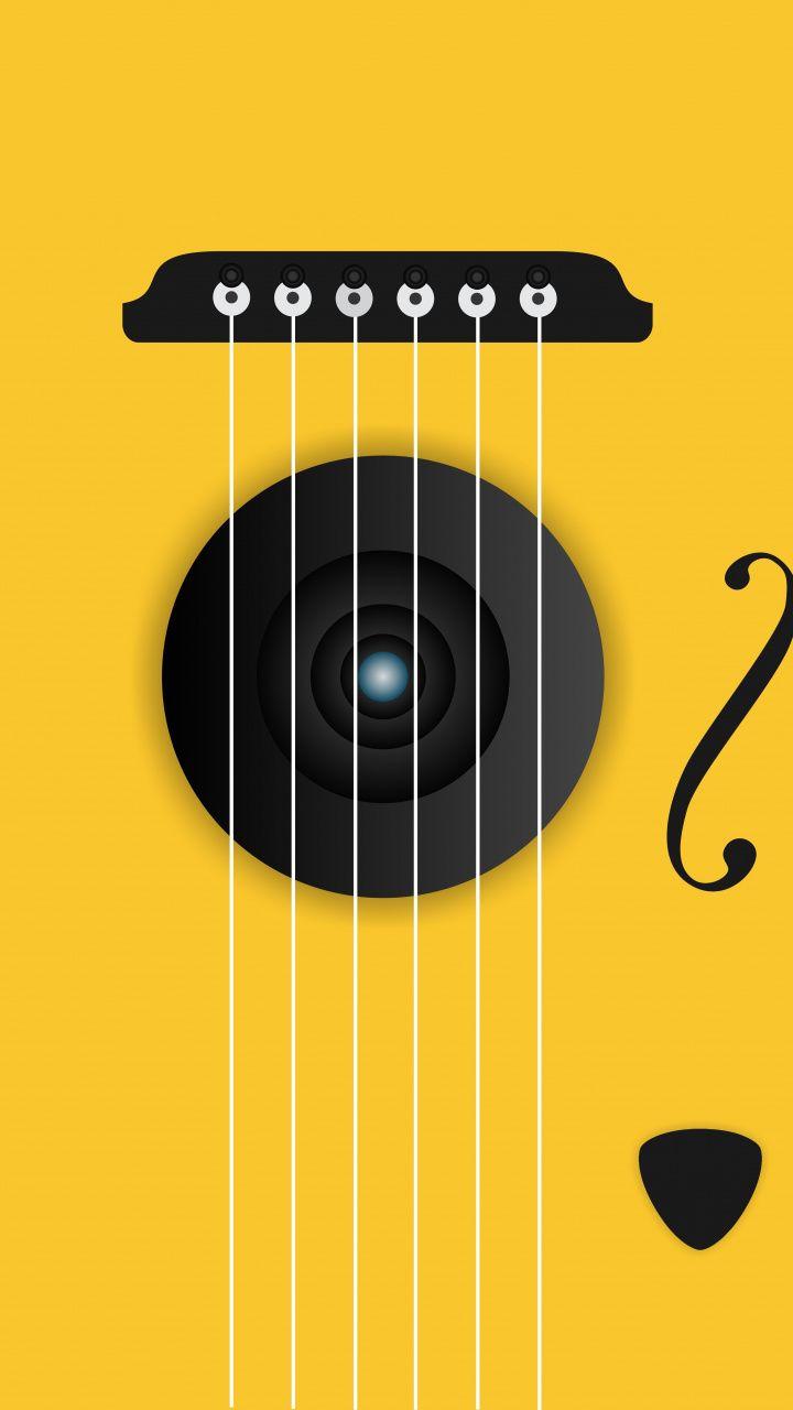 Guitar Strings Minimal 720x1280 Wallpaper Papeis De Parede Papelaria