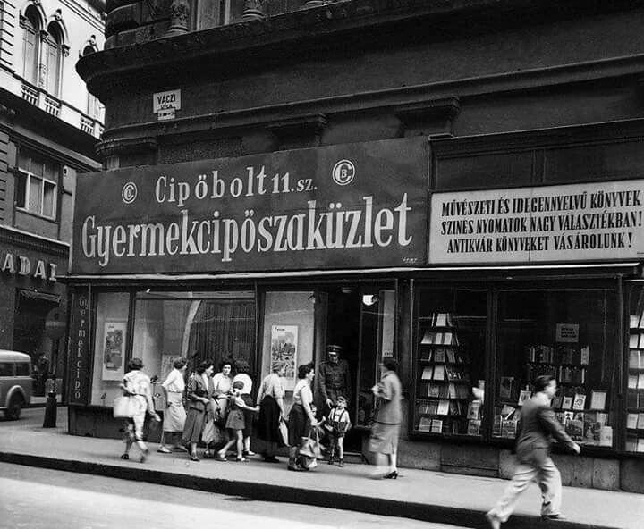 Váci utca az 50-es években