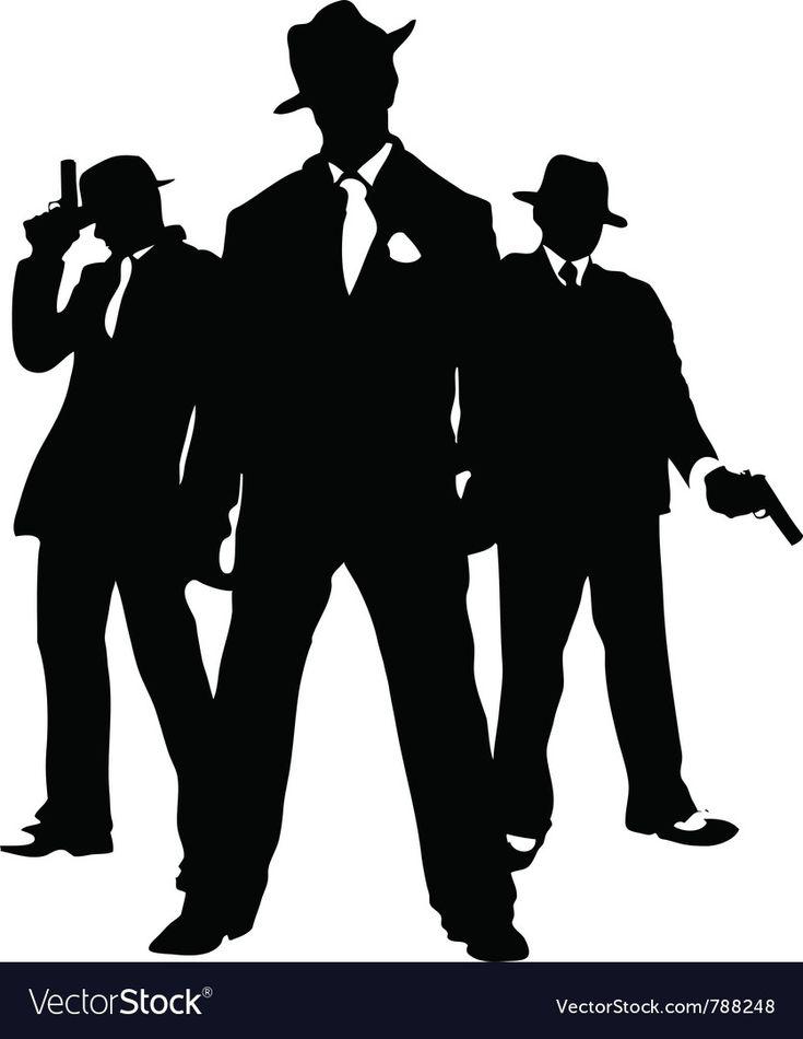 Юбилей, картинки в стиле гангстеров нарисованные