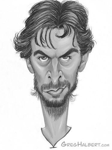 Pau Gasol Caricature