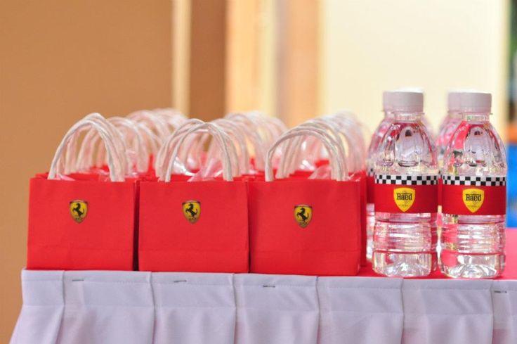Ferrari Theme Birthday Party