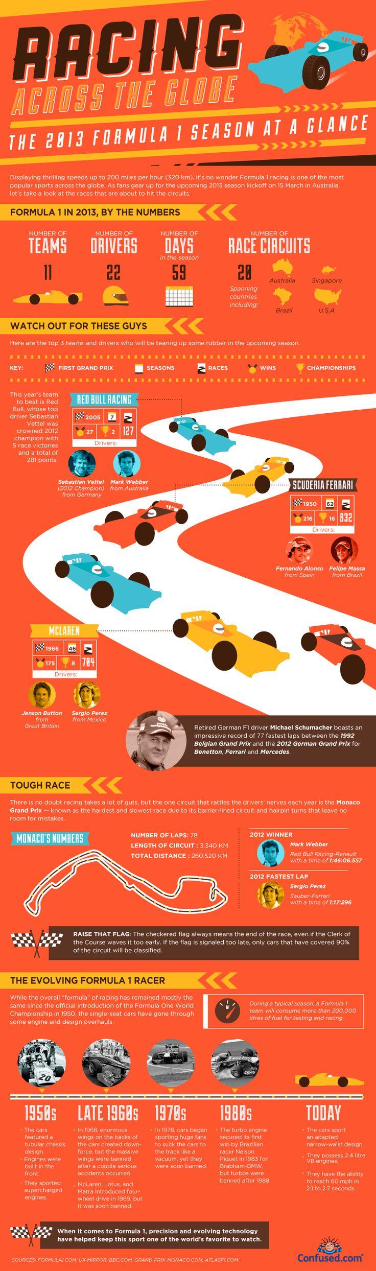 Formula 1 2013 season at a glance.