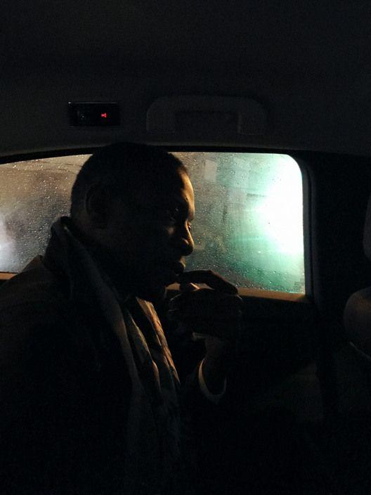 Christopher Anderson -  Paris. 2016. Azu Nwagbogu in a taxi.