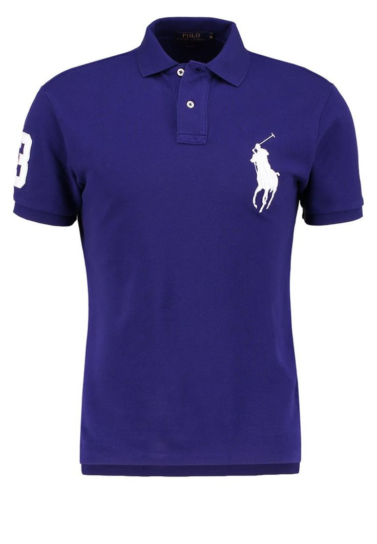 Polo Ralph Lauren SLIM FIT Poloshirt royal marine Premium bei Zalando.de | Material Oberstoff: 100% Baumwolle | Premium jetzt versandkostenfrei bei Zalando.de bestellen!