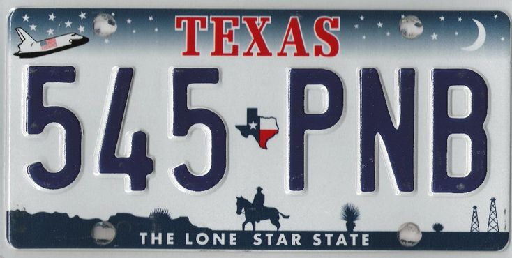 space shuttle license plate - photo #14