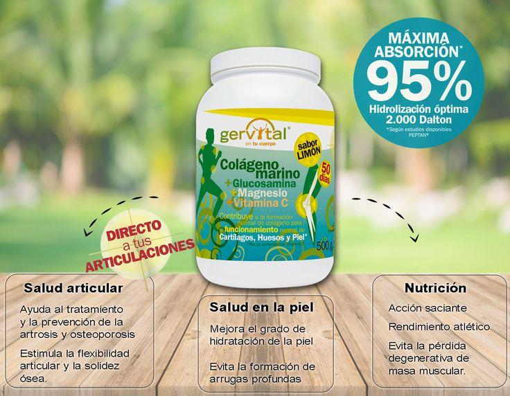 Pregunta en tu farmacia por el ¡NUEVO! Gervital Colágeno Marino. Ahora con Magnesio 💪🏻 y sabor Limón 🍋🍋