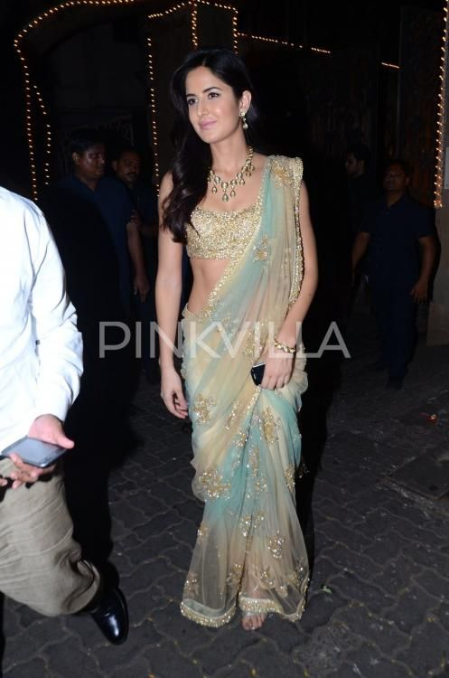 Lovebirds Ranbir Kapoor-Katrina Kaif party at Anil Kapoor's Diwali bash | PINKVILLA