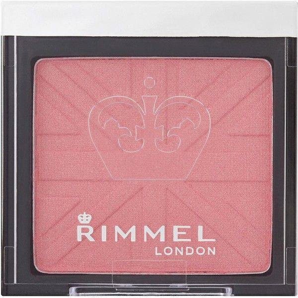 Rimmel Lasting Finish Mono Blush Live Pink (135 ZAR) ❤ liked on Polyvore featuring beauty products, makeup, cheek makeup, blush, rimmel and rimmel blush