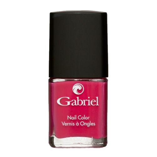 Gabriel nail polish in Raspberry, Iceberg, or Wicked Plum. You can find them at Nature's Fare!