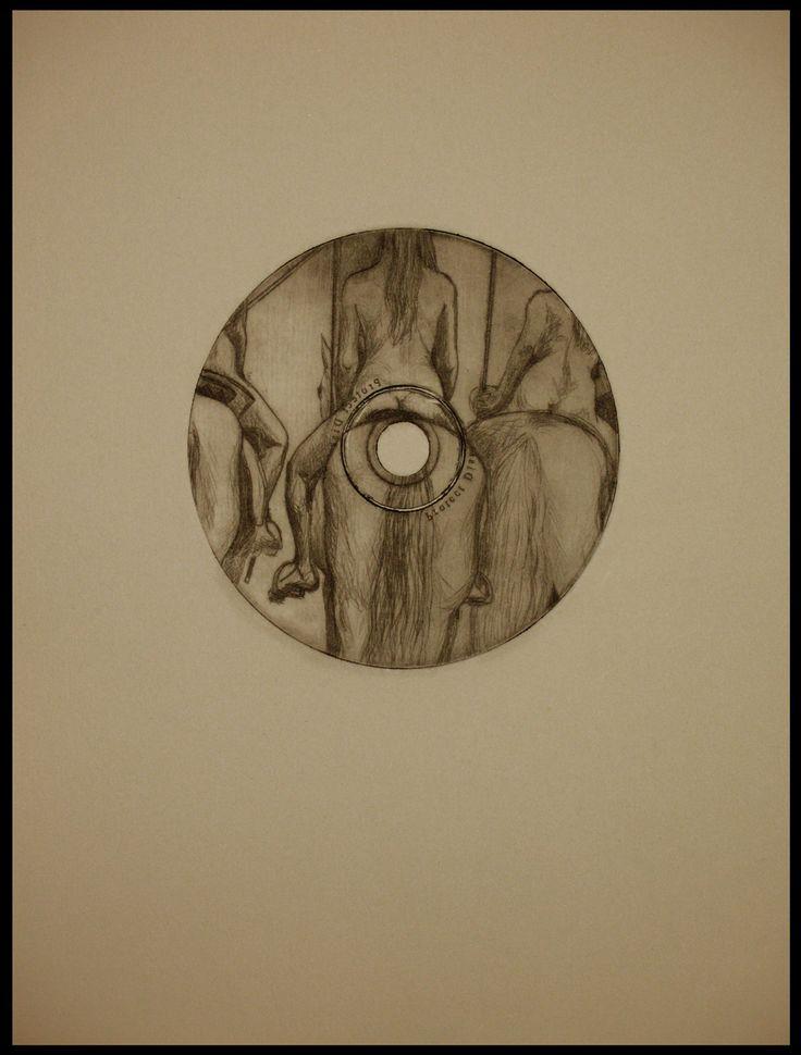 4.gravura nud calare