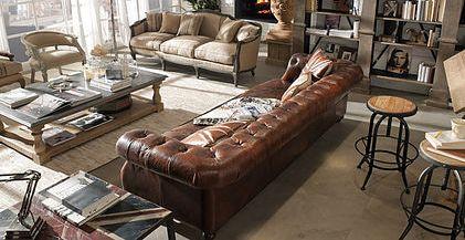 La collezione esclusiva di salotti e divani: vintage, classico e design. Tutte le tendenze per arredare le aree lounge o le suite più prestigiose.