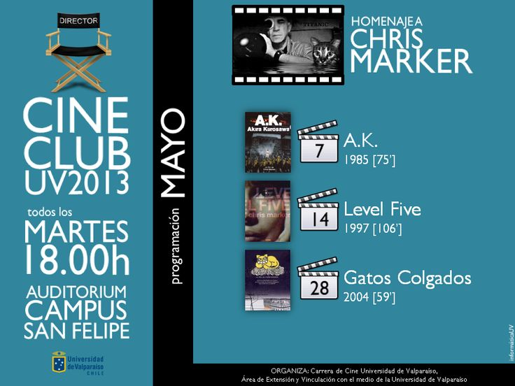 Afiche Cine Club Mayo