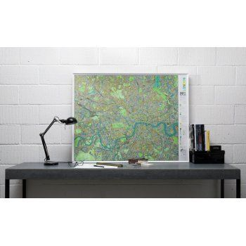 The Future Mapping Company London Street Map - Aqua/Champagne/Apple - The Future Mapping Company from eggcup & blanket UK