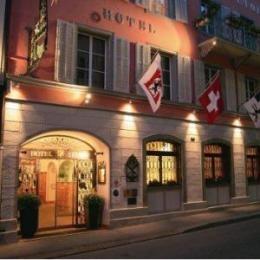 Hotel Stern Chur Switzerland  We stayed here in Chur