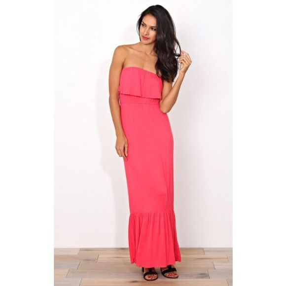 1000  ideas about Coral Maxi Dresses on Pinterest - Coral maxi ...