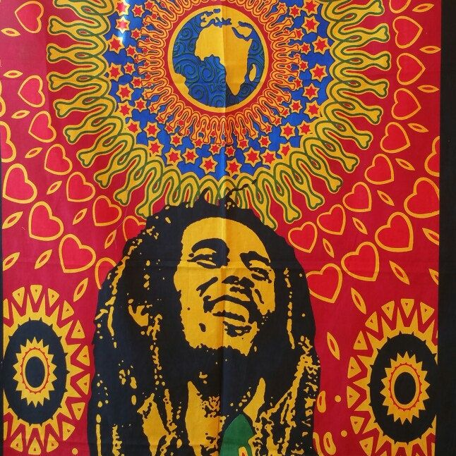 The legendary Bob Marley print tapestry!