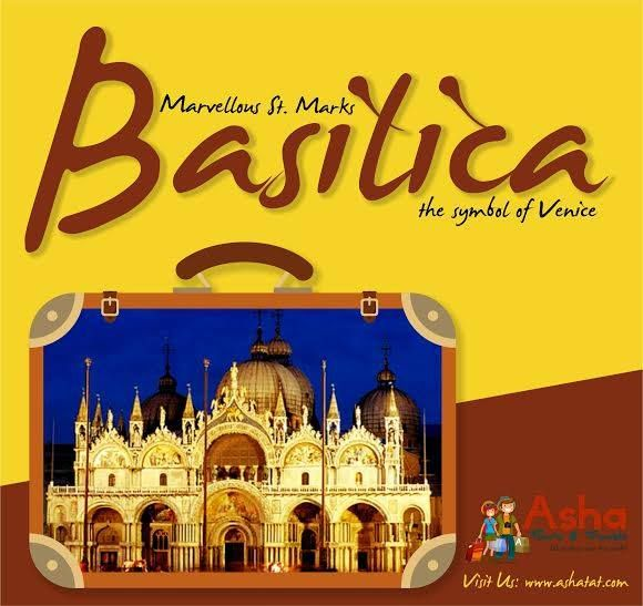 An astounding monument & a marvel of architecture, the Basilica draws a rich history of St. Mark's remains. The arch's of the facade decorated by Byzantine mosaics. The Basilica indeed creates a substantial view of its eastern past!! Join us to the beautiful journey of Venice, the floating city!! Visit us: www.ashatat.com. ‪#‎Ashatours‬ ‪#‎Travels‬ ‪#‎Venice‬ ‪#‎Basilica‬ ‪#‎Europe‬ ‪#‎Beautiful‬