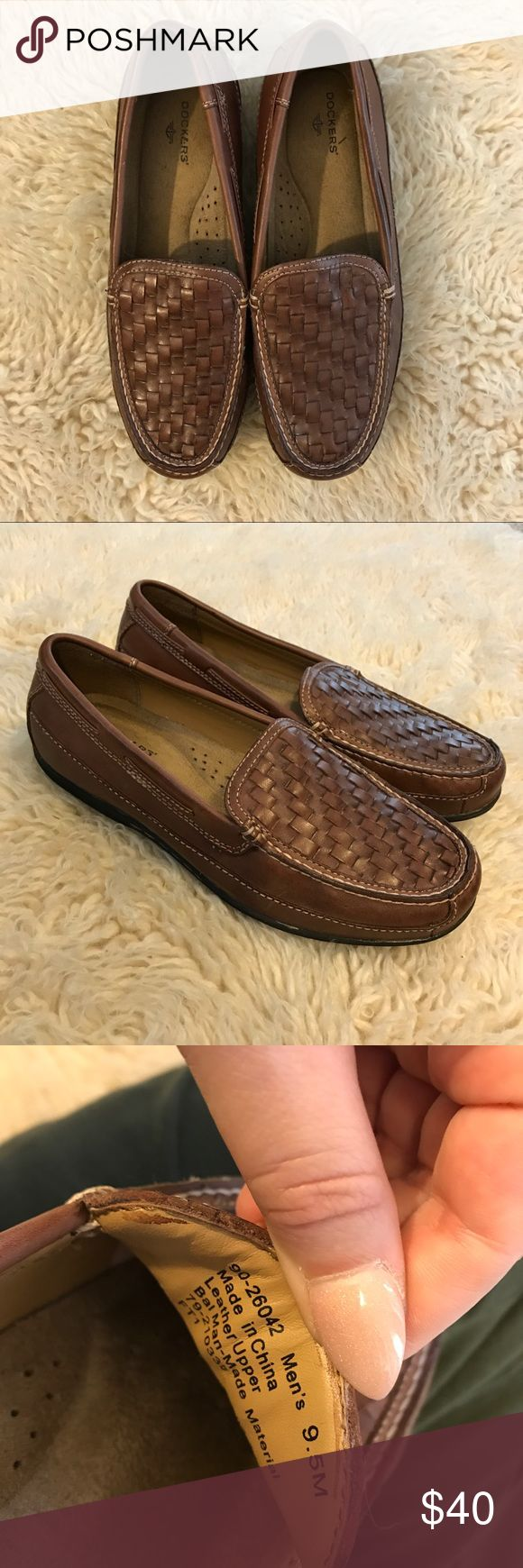 Men's Dockers Ferndale Loafer Complement your classic wardrobe with the stylish and comfortable Docker's Ferndale Loafer. Memory Foam insole Flexible construction Fit: True to Size Insole: Memory Foam Outsole: Rubber Upper: Leather Worn once in excellent condition Dockers Shoes Loafers & Slip-Ons