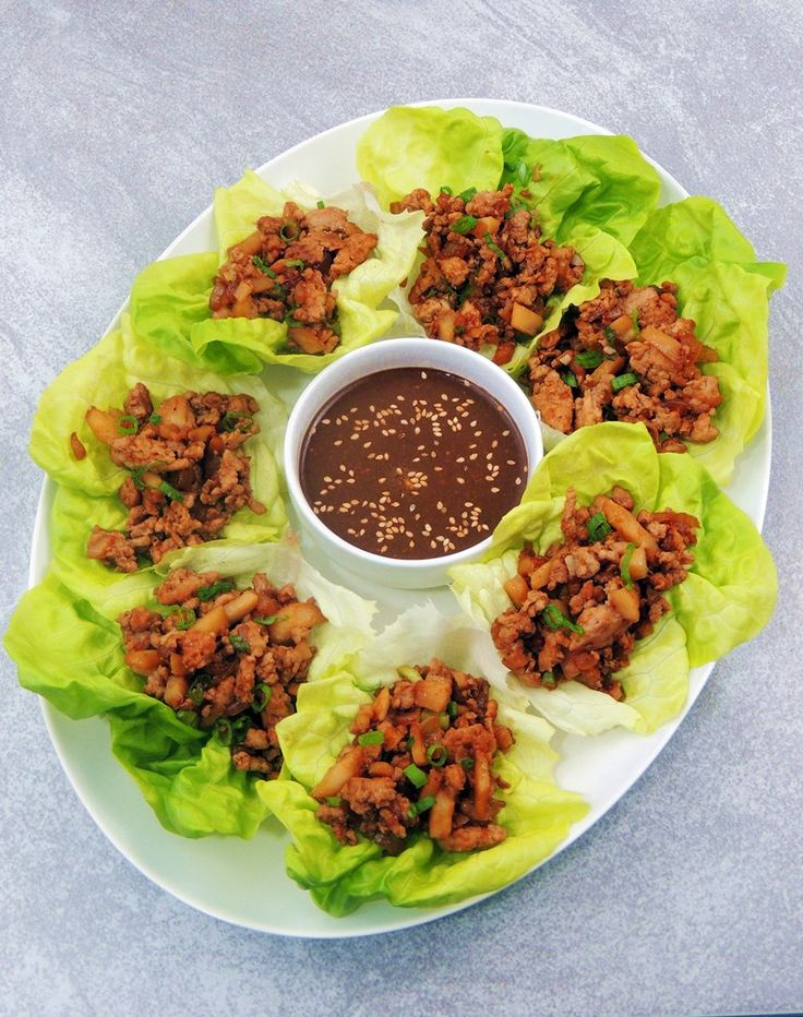 Copycat PF Chang's Chicken Lettuce Wraps