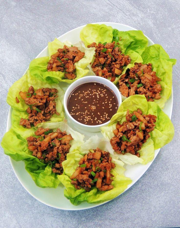 Bobbi's Kozy Kitchen: Copycat PF Chang's Chicken Lettuce Wraps#.VOJkZPkgoW_#.VOJkZPkgoW_#.VOJkZPkgoW_