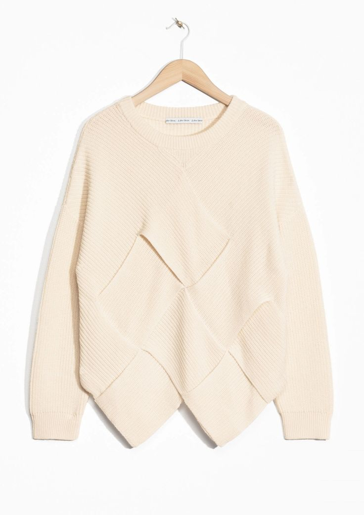 & Other Stories | Braided Wool-Blend Sweater