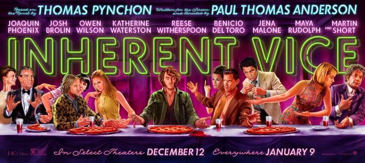 Inherent Vice 2015 Movie Posters